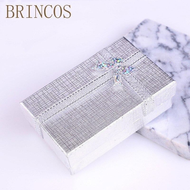 Кольцо для помолвки 2019New, органайзер для ювелирных изделий, черная коробка, серьги, ожерелье, подарочные коробки для браслетов, держатель, коробка с бантом