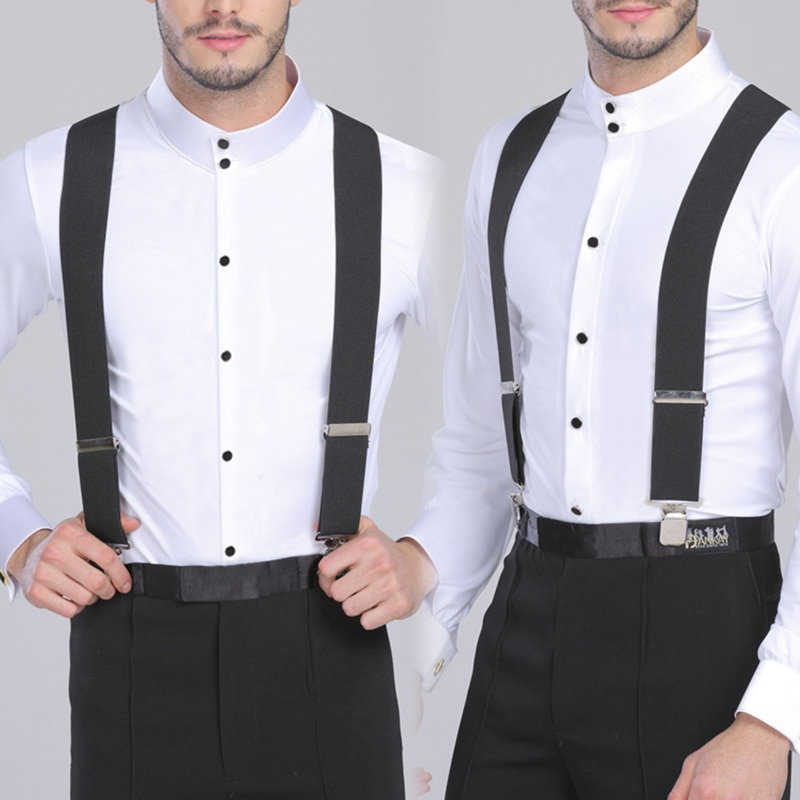 AliExpress - 130cm Plus size Suspenders For Heavy duty Men Pants With 4 Strong Clips 5cm Wide Braces With  X-Back Trousers Man Braces Strap