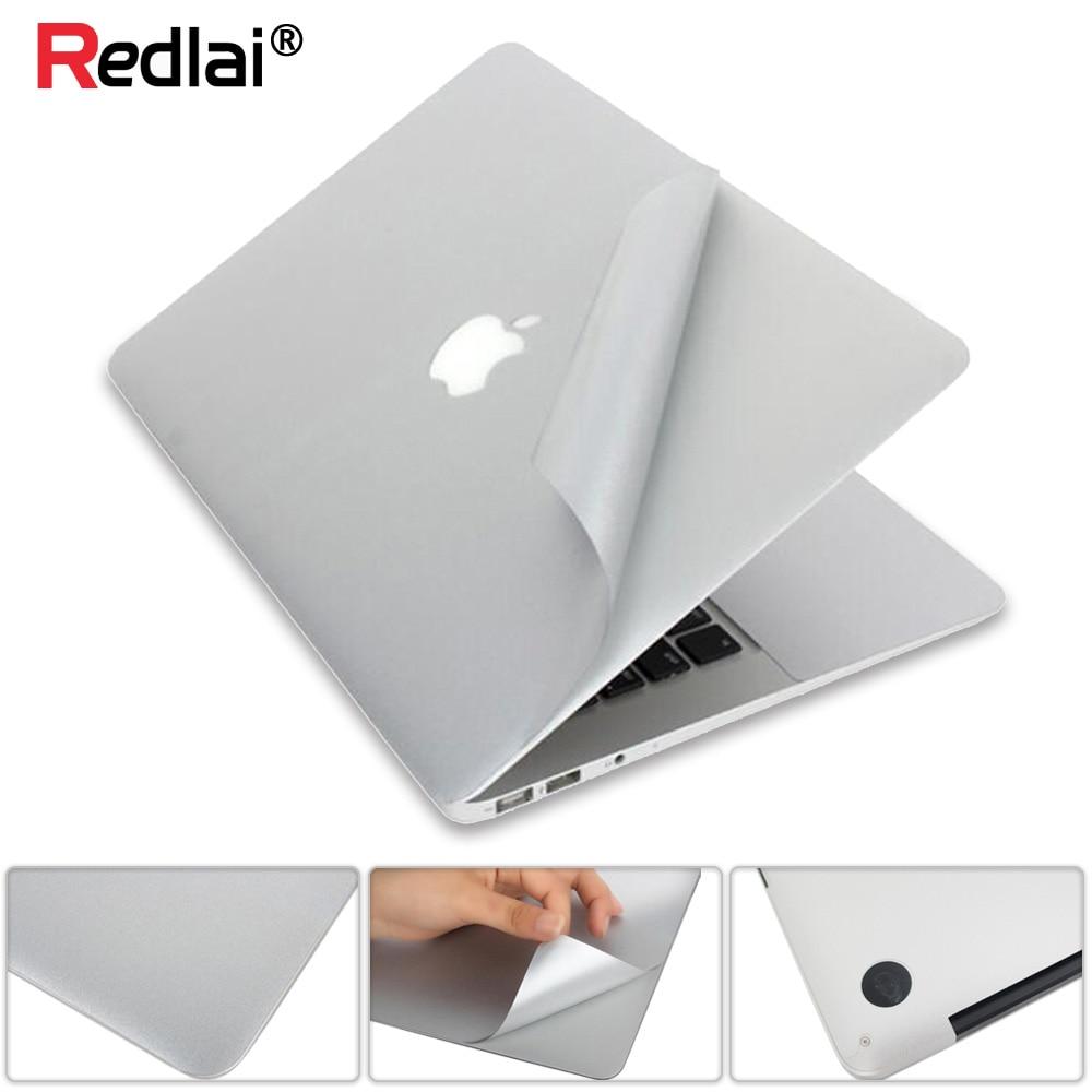 Pegatina de portátil para MacBook Pro 16 13 pulgadas A2141 A2159 cubierta de vinilo superior e inferior 2020 Air 13 A2179 A1932 A2289 pantalla Retina