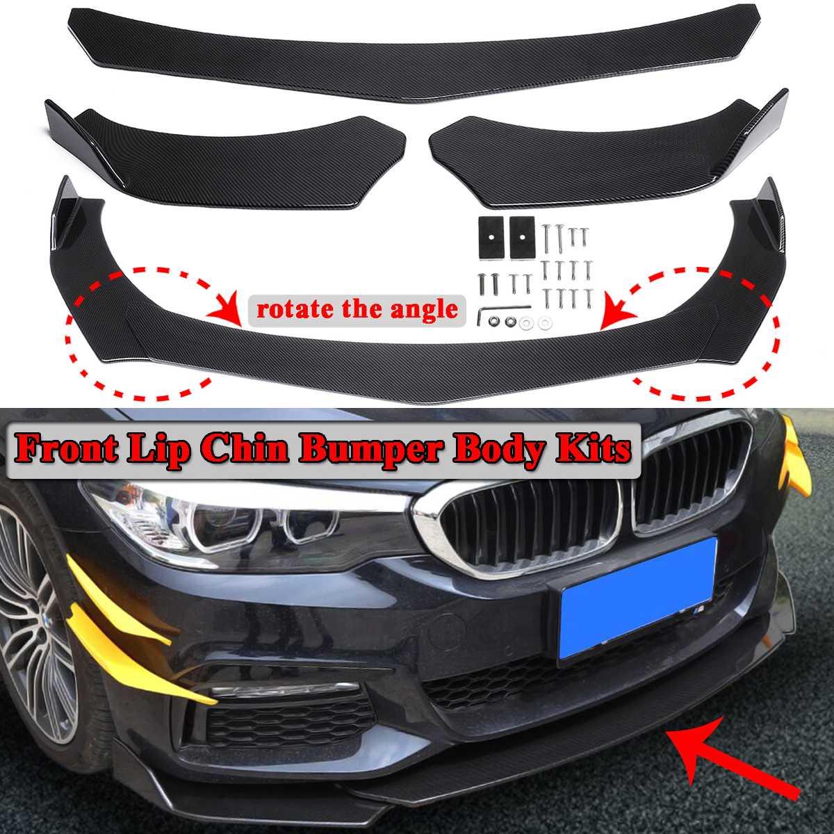 مصد أمامي عالمي من ألياف الكربون ، طقم جسم السيارة ، BMW F10 F30 F32 F36 F80 M3 F82 M4 G30 ، 3 قطعة