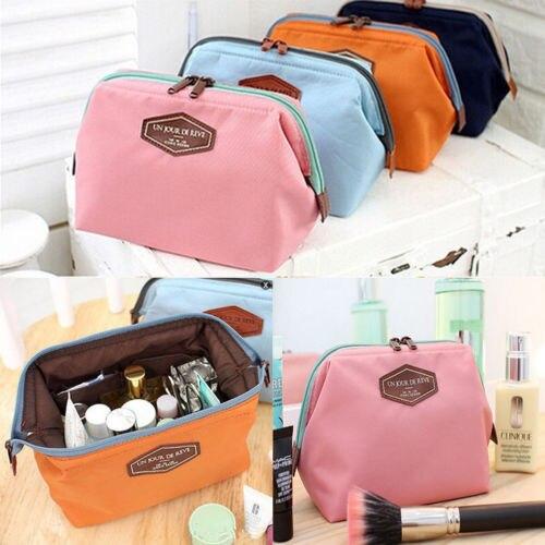 Bolsa neceser portátil para cosméticos bolsa neceser de mujer bolso de maquillaje Pack rápido impermeable bolsa de viaje neceser organizador