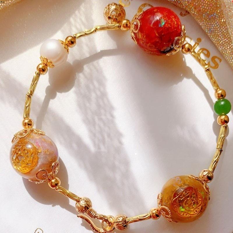 Review AURA Orgonite Energy Converter Crystal Bracelet Emotional Relationship Transfer Bracelet Soothe The Soul Decorative Jewelry