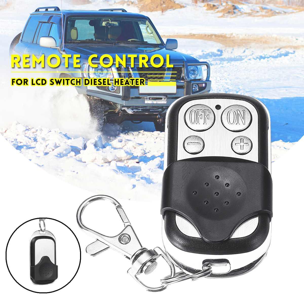 12В/24В ЖК-монитор переключатель + пульт дистанционного управления аксессуары для автомобильного трека дизелей воздушный обогреватель парковочный обогреватель