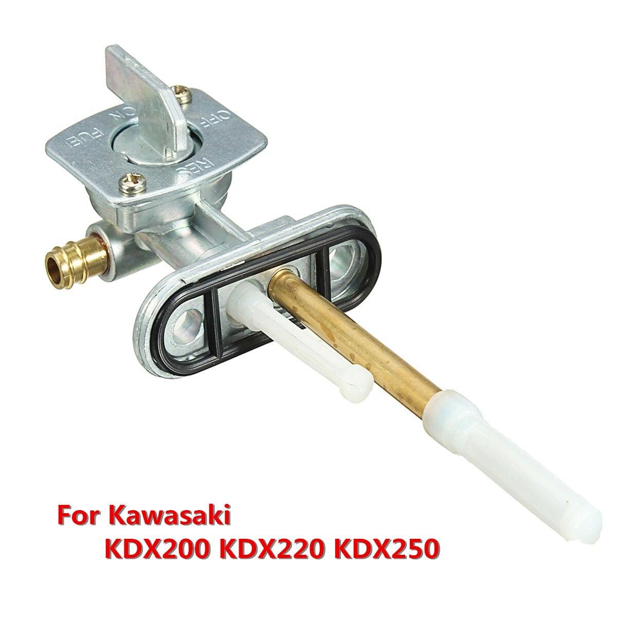 Kit de montaje de interruptor de llave de purga de válvula de combustible de Gas para Kawasaki KDX200 KDX220 KDX250
