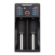 Varicore V20I 18650 Chargeur 1.2V 3.7V 3.2V 3.85V Aa/Aaa 26650 26500 10440 16340 17670 18490 Nimh Chargeur De Batterie Au Allumé
