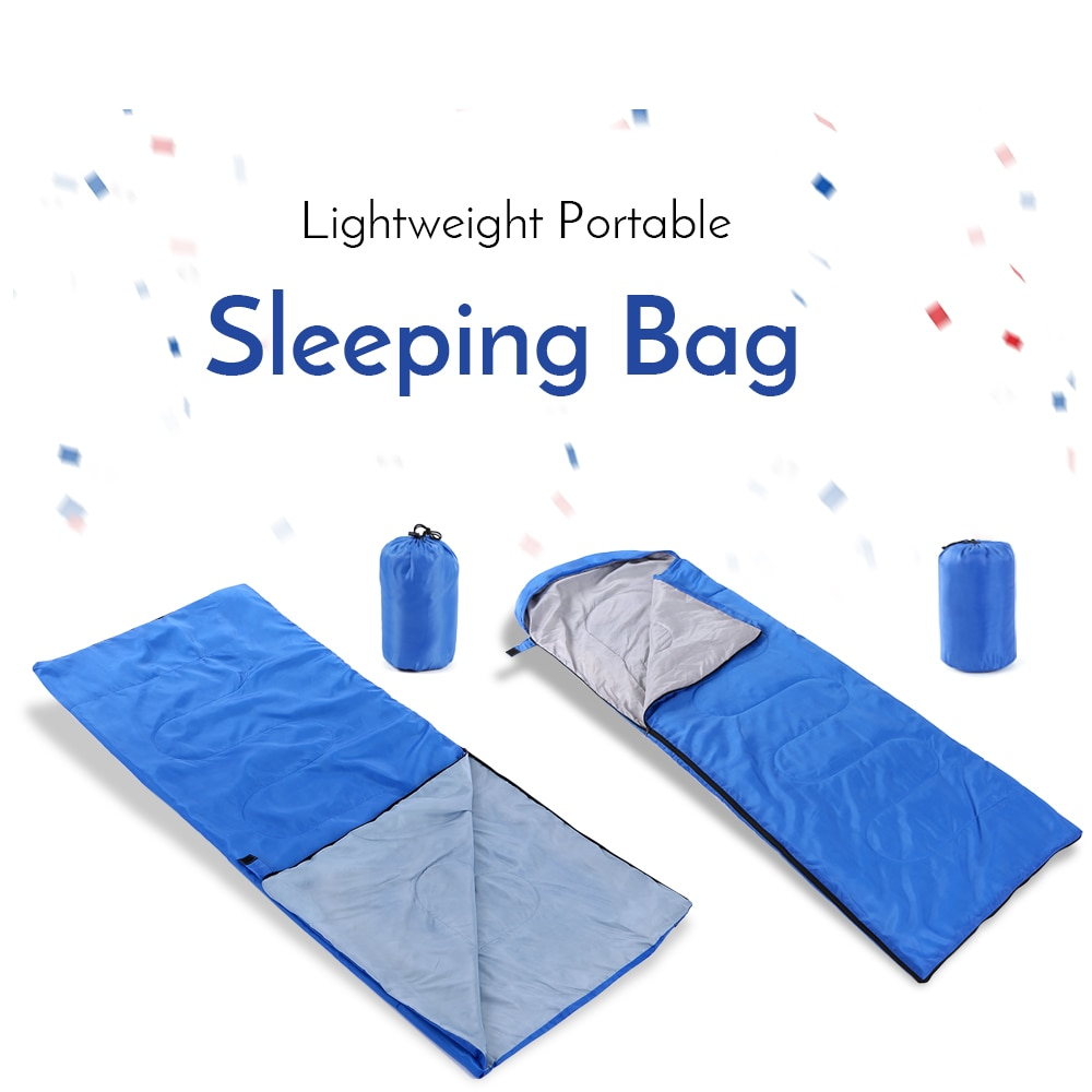 Lixada saco de dormir repelente al agua para exteriores, saco de dormir ultraligero para acampar, cama de dormir, mochila de viaje, bolsa perezosa