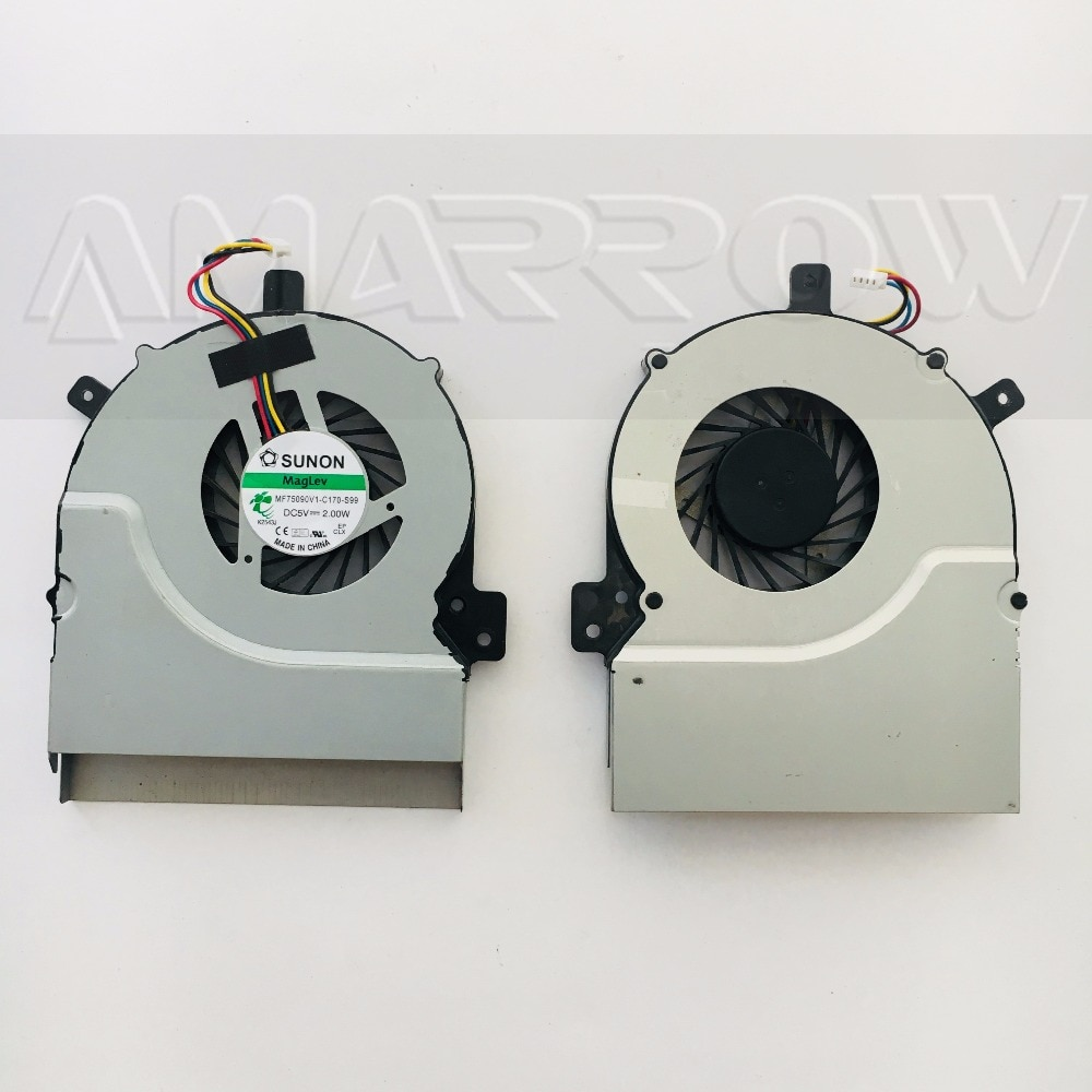 original free shipping Laptop cpu cooling fan For DELL 5150 MF75090V1-C170-S99 DC5V 2W