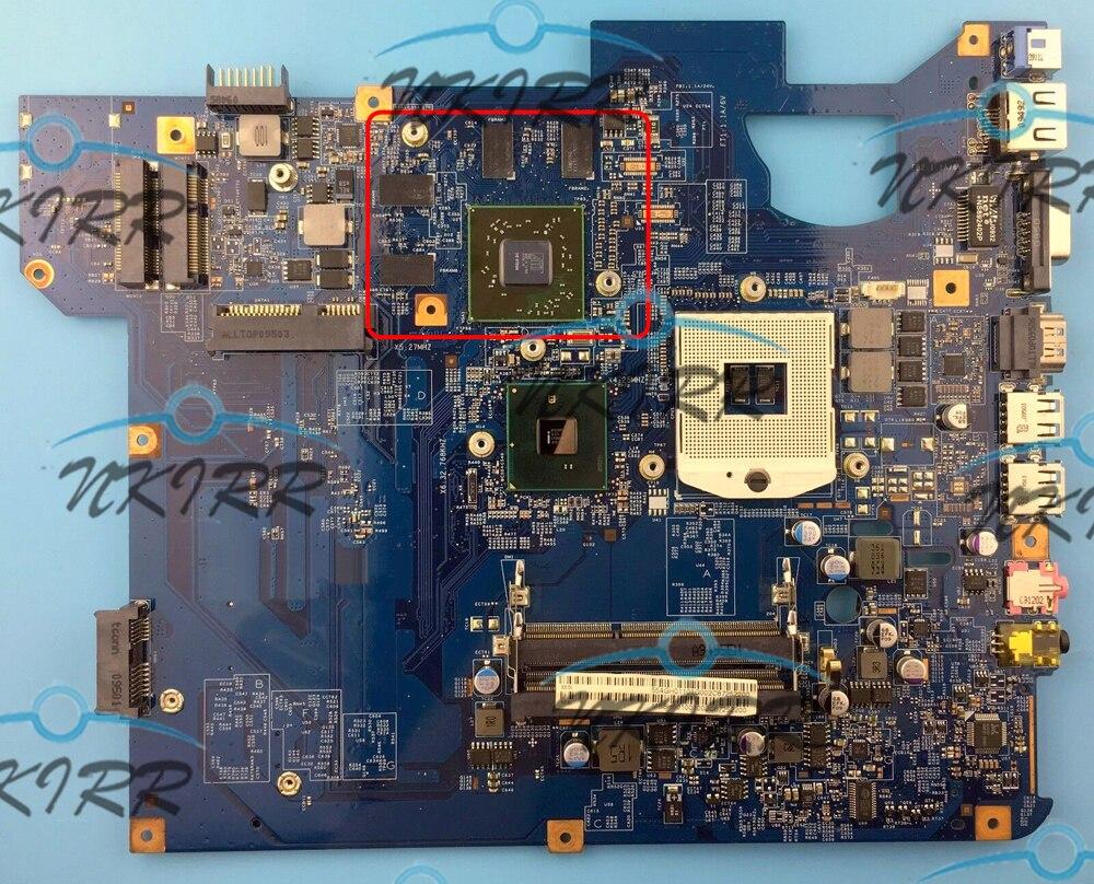 SJV50-CP 09284-1M 48.4GH01.01M MBBH601001 MB.BH601.001 HM55 HD5650 1G DDR3 اللوحة ل MS2288 بوابة NV59 TJ75 NV58