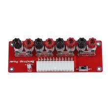 24in ATX блок питания индикатор стенд Топ Breakout доска модуль комплект для компьютера ПК красный