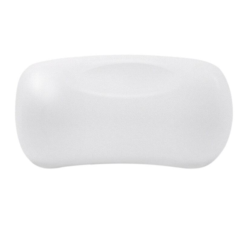 Almohada de baño de Spa antideslizante bañera reposacabezas suave impermeable almohadas de baño con ventosas de baño fácil de limpiar