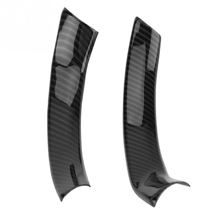 Funda de fibra de carbono estilo Decoración Para Marco de volante para coche pegatina para accesorios de Alfa Romeo Stelvio Guilia