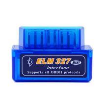 Portable Super Mini ELM327 V2.1 OBD2 II   Bluetooth, Scanner Auto ELM 327 testeur de voiture, outil de Diagnostic, accessoires de voiture