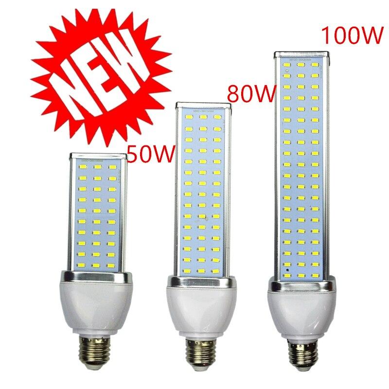 5 قطعة/الوحدة 5730 LED مصباح الذرة ضوء 30W 40W 50W 60W 80W 100W الشارع لمبة E27 E39 E40 85-265V ساحة مصباح بارد دافئ بيضاء بشكل طبيعي