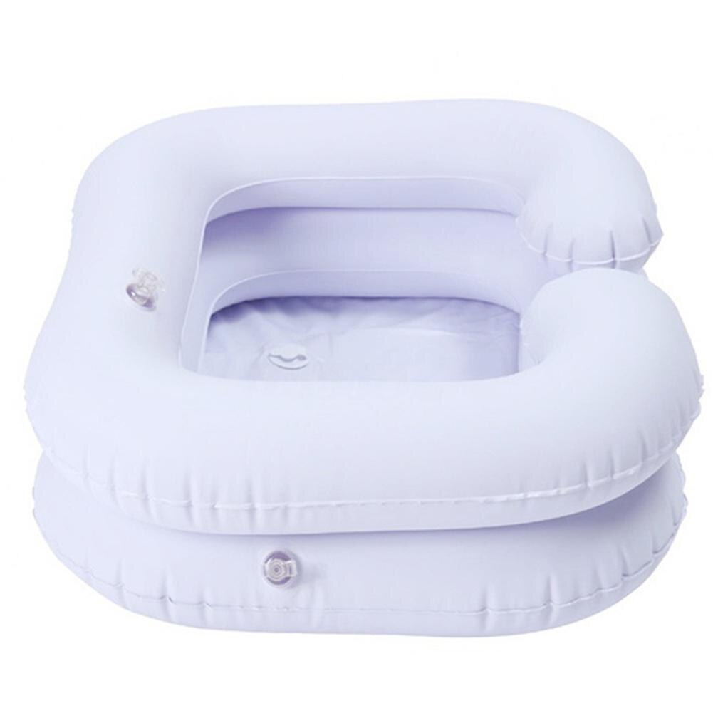 Adeeing Надувная складная раковина для шампуня пожилых людей беременных