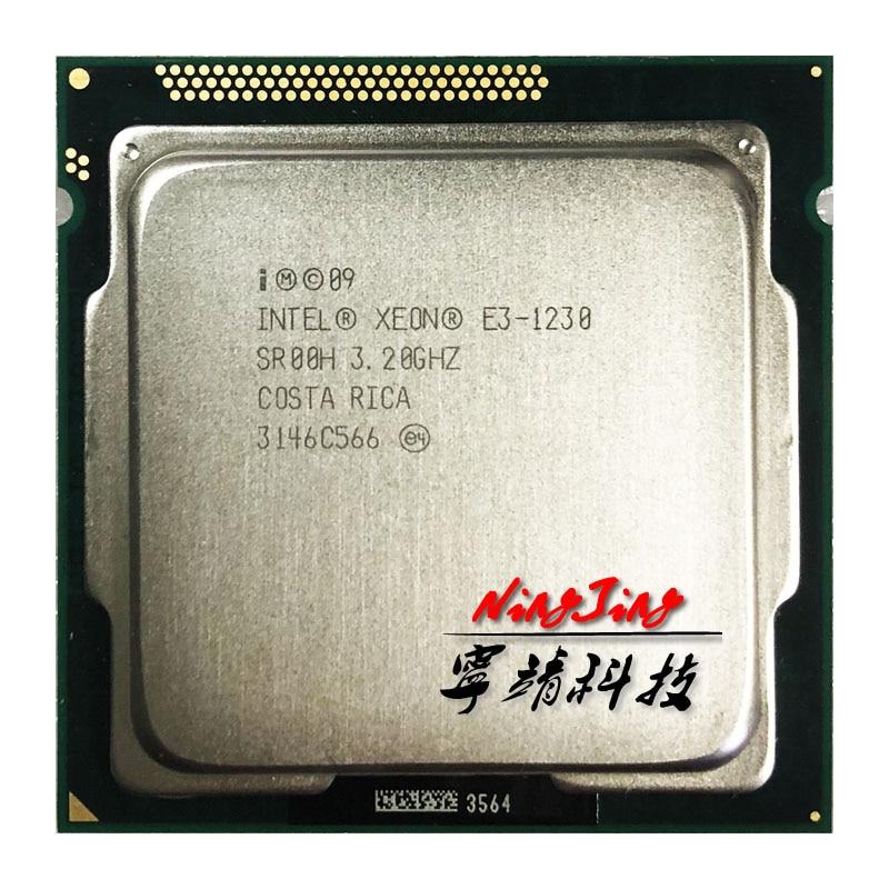 Четырехъядерный процессор Intel Xeon E3-1230 E3 1230 3,2 ГГц 8M 80W LGA 1155