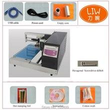 Digital Hot Foil Menu Cover Stamping Machine 3050c Print on The Leather Digital Foil Printer