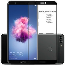 Full Cover Tempered Glass For Huawei PSmart Screen Protector For Huawei P Smart Dual Sim Protective