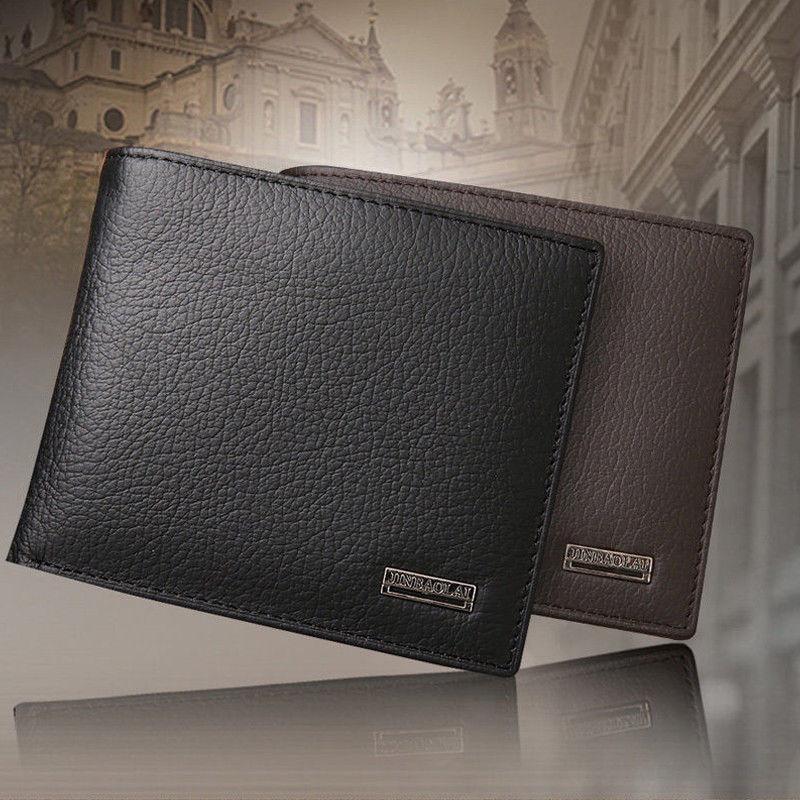 2019 HOT Classic Men's Wallet Fashion Solid Color Double Foldless Zipper Card Holder Clutch bag