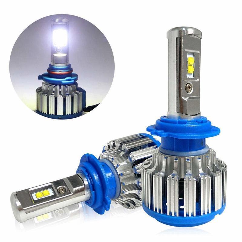 Gz kafolee t1 h11 led h3 h7 h4 h8 9005 9006 hb3 hb4 40 w 6000lm 6000 k conduziu a lâmpada de nevoeiro farol do carro feixe frente lâmpadas luz branca 12 v