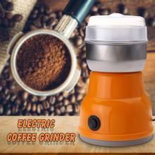Electric Coffee Grinder Portable Auto-manual Coffee grinder Machine EU Plug 220V Home Kitchen Salt Pepper Mill Spice Nuts
