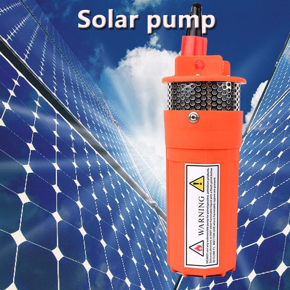 dc 12v 24v mini solar power high pressure water pump 70 meter lift diaphragm submersible outdoor garden fountain deep well Solar Energy Water Pump Dc 12v/24v 360lph 70m Lift,small Submersible  Outdoor Garden Deep Well Car Wash Bilge Cleaning 12 24 V