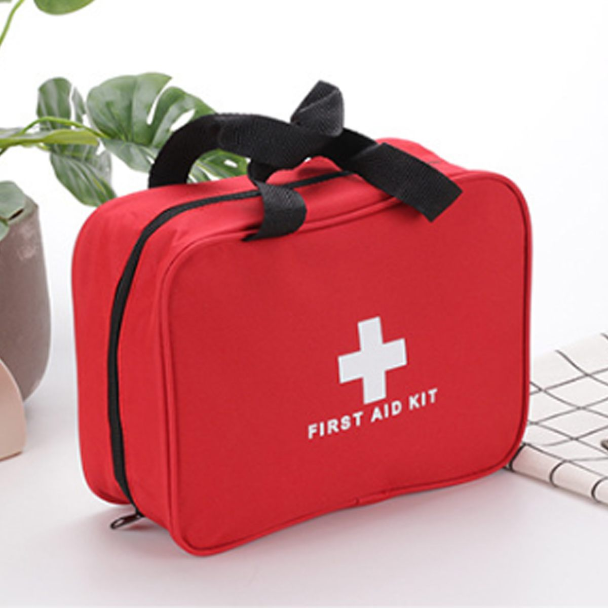 Kit médico de emergencia para primeros auxilios de coche, bolsa de supervivencia, bolsa de almacenamiento vacía para medicina, viaje a casa, deporte al aire libre, Camping