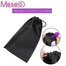Meselo Vibrator Storage Bag Dildo Pouch Sex Toys for Vibrator Penis Anal Plug Special Secret Storage Cover
