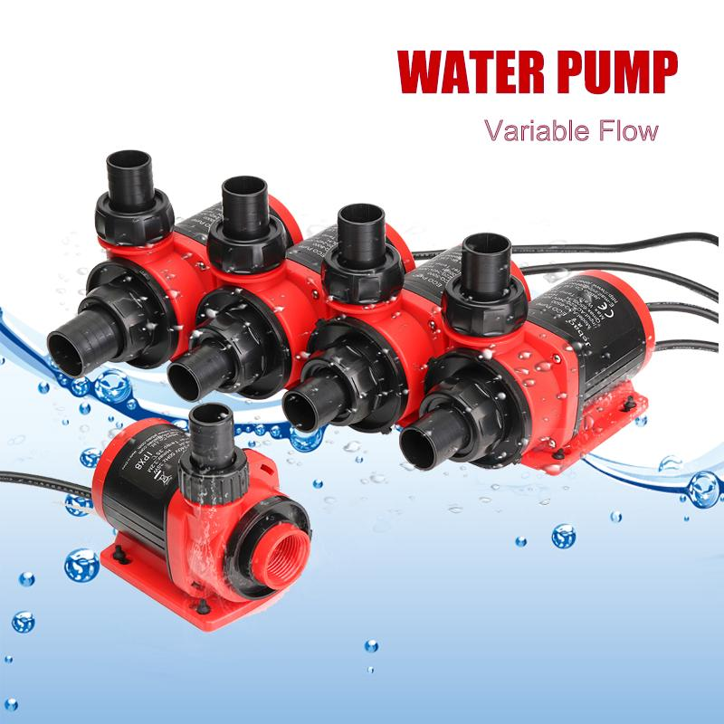 35/50/60/70/80W 3500-10000L/H Variable Flow Ultra-Quiet Submersible Water Pump Filter Fish Pond Fountain Aquarium Tank High-lift