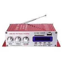Ams-kentiger Hy-400 amplificateur stéréo de voiture Hi-Fi haut-parleur Mp3 avec affichage Fm Lcd lecteur de puissance pour Auto moto Remo