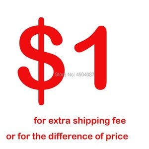 Extra Fee  Shipping Charge Price Difference Price for other Medical/Dental Product. Pls contact with service person