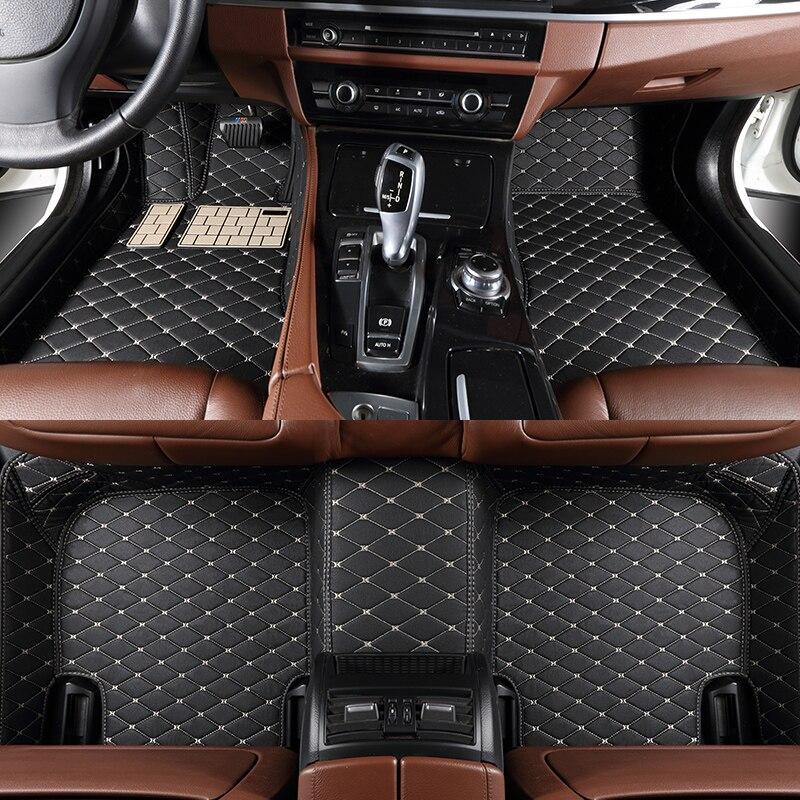 Tapetes do assoalho carro personalizado para mercedes-benz coupe c205 a205 w205 w204 e-klasse classe s213 a213 w212 c238 acessórios do carro estilo