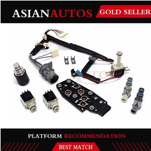 Caixa de Velocidades de Transmissão Mestre 4L60E Golkar peças de alta qualidade Kit case para EPC Solenóide Shift 3-2 Tcc Pwm 2003 2004 2005