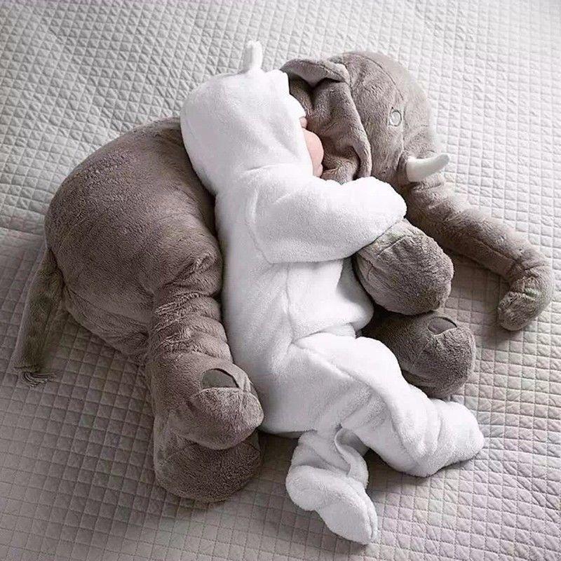 Pudcoco Baby Child Soft Elephant Cushion Plush Toys Stuff Lumbar Pillow Long Nose Doll