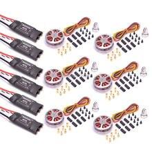 6 Pcs 5010 360KV/750kv Brushless Ad Alta Coppia Motori + 6 Pcs Readytosky 40A ESC OPTO 2-6 S per ZD850 ZD550 S550 F550 Quadcopter
