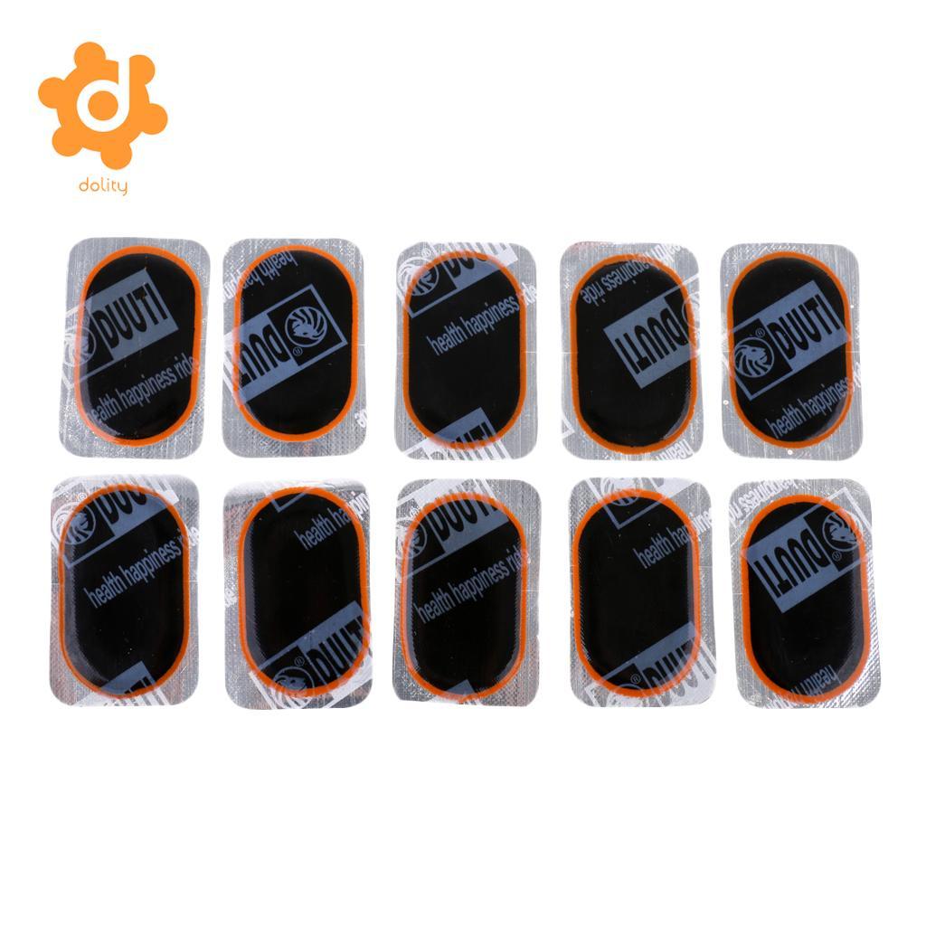 Kit de reparo interno para furo em lote, 10 peças, tubo interno, para carros, caminhão, pneu, alta qualidade, ultra fino