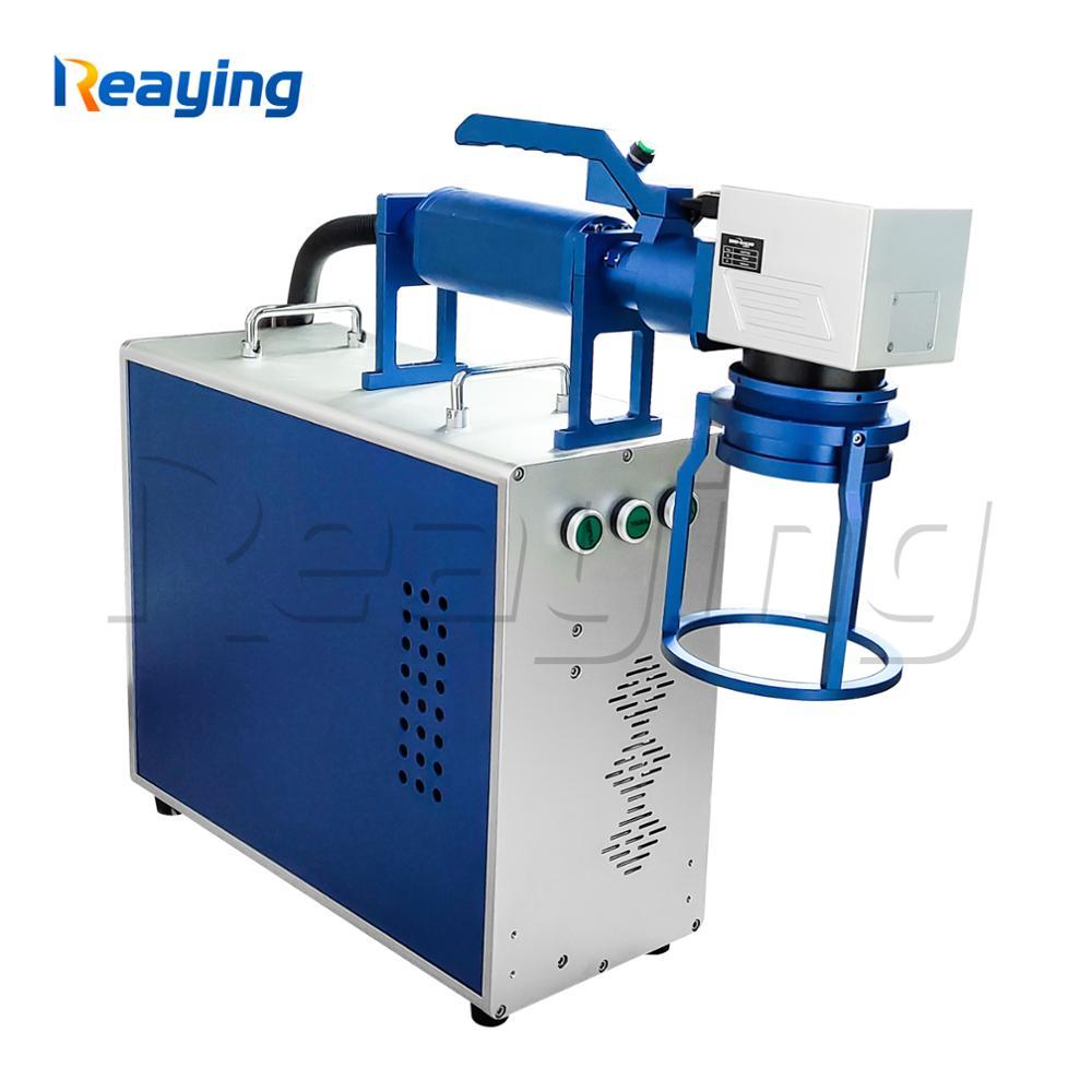 Reaying mini máquina de marcado láser de mano 20W 30W 50W Máquina de marcado láser de fibra