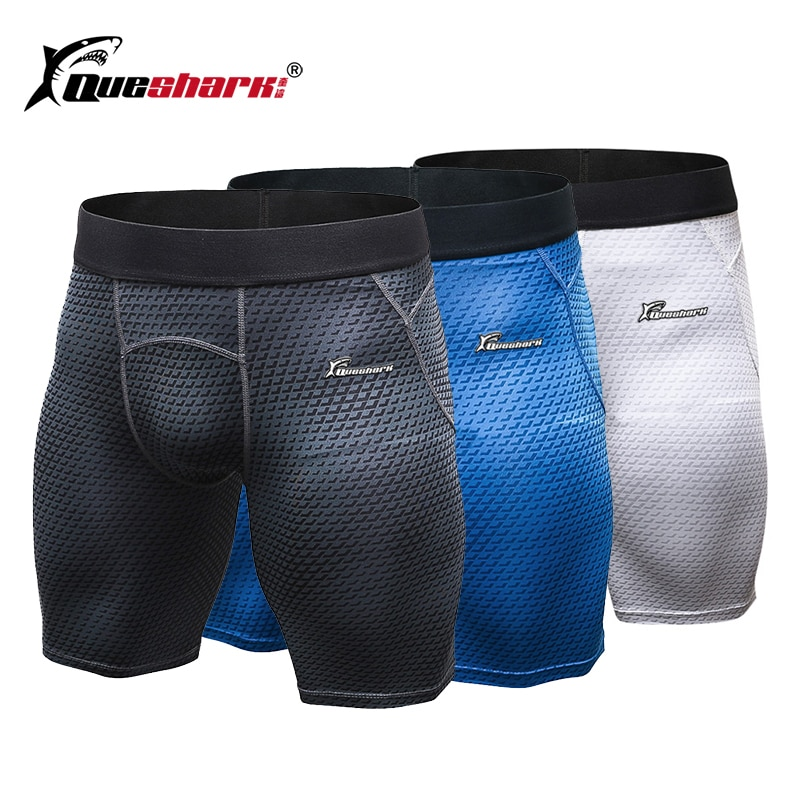 QUESHARK Gym Shorts Männer Sommer Sport Workout Short Leggings Fitness Dünne Training Shorts pantalon corto hombre