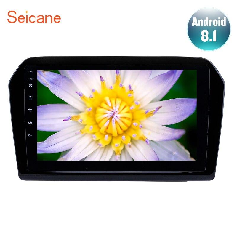 "Seicane 9""Android 8.1 GPS Navi Car autoradio for 2012-2015 VW Volkswagen Jetta HD touchscreen Bluetooth Support Rear camera DAB+"