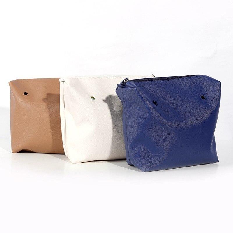 Accesorios Obag tamaño clásico forro interior cremallera bolsillo DIY montaje inserto con revestimiento interior impermeable Italia estilo O bolsa