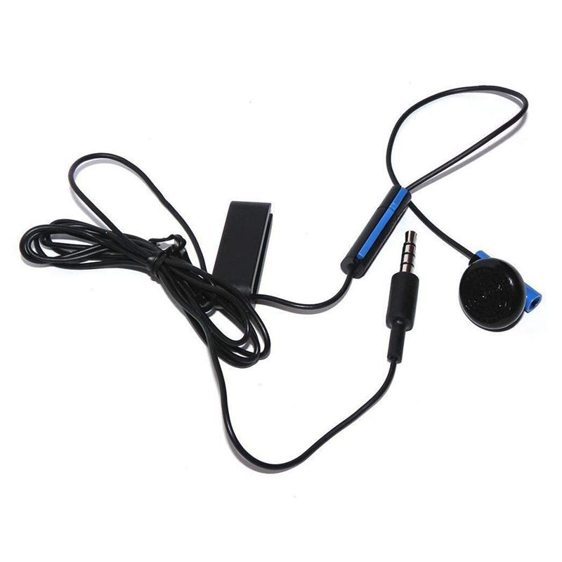 Headset Earbud Microphone Earpiece for PS4 Controller