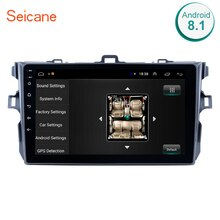 "Seicane 9 ""Android 8,1 Auto GPS Multimedia Für 2006 2007 2008 2009 2010 2011 2012 Toyota Corolla Navi Player unterstützung Bluetooth"