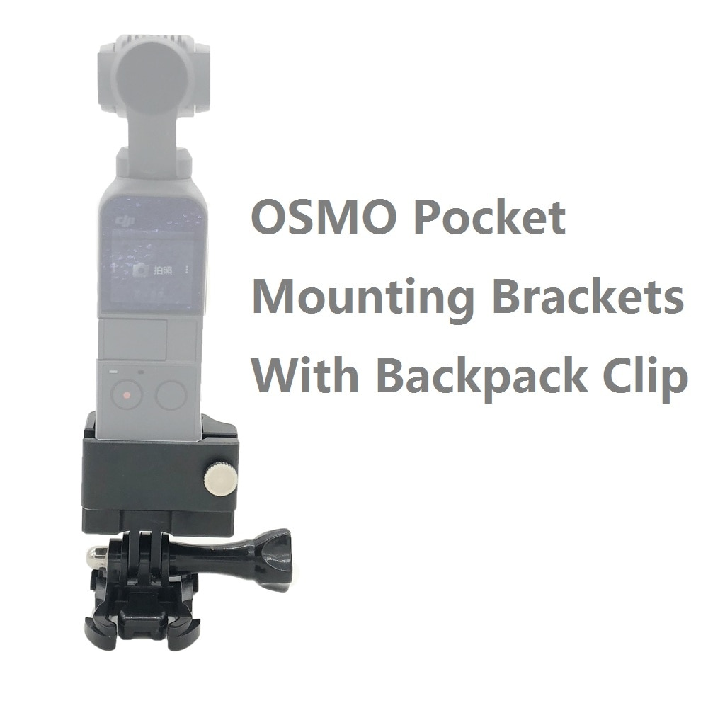 Para DJI OSMO POCKET adaptador básico de montaje para accesorios Cámara trípode Selfie Stick Holder con adaptador de montaje