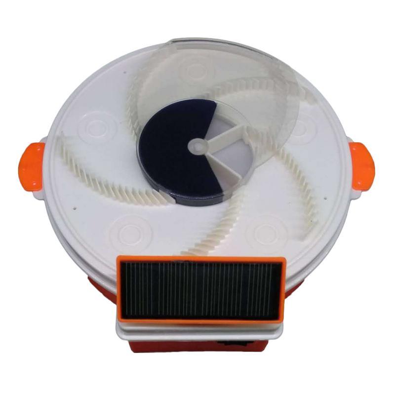 Dispositivo Solar eficaz trampa para moscas trampa para insectos atrapamoscas automático trampa para moscas artefactos trampa para insectos recargable 40
