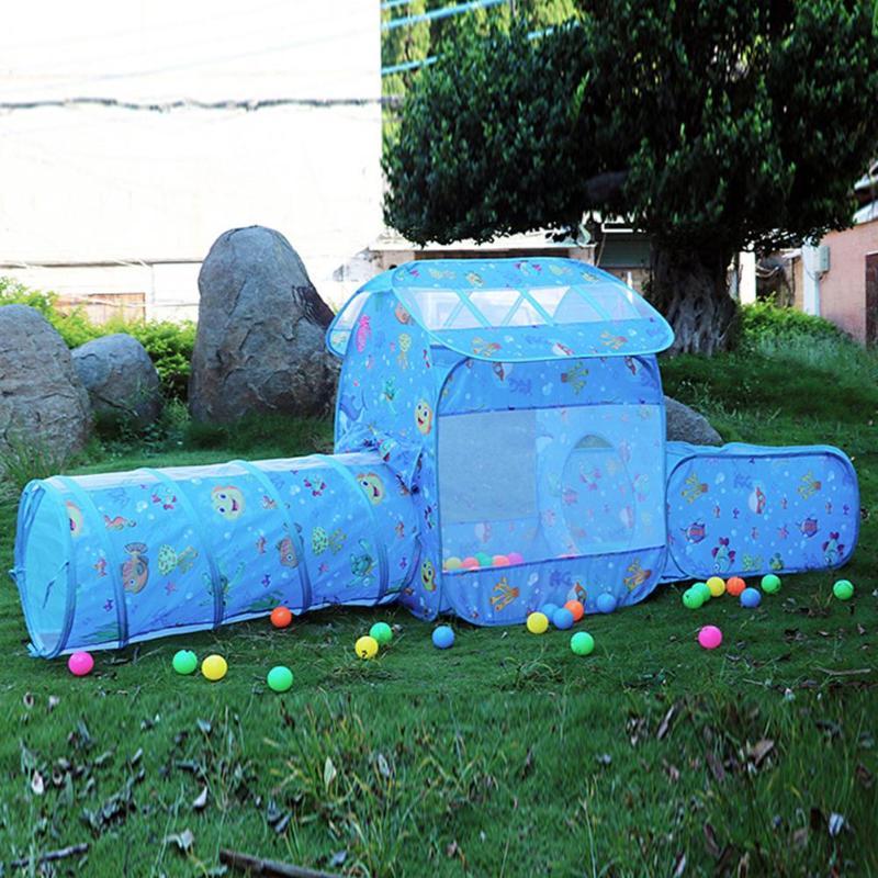 Tienda de campaña para bebés, juguetes para PISCINA DE BOLAS, carpa para niños, juguetes para niños, túnel para gatear, piscina, Pit, juegos al aire libre, tienda para bebés para niños y niñas