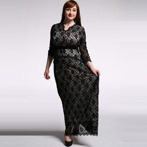 new summer women's clothing european dresses women's dresses plus size M-6xl full dress women's summer clothing 5204