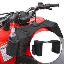 Motorcycle ATV Bag Tank Bags SaddleBag Mobile Fuel Tank Cup Holder For Polaris Dirt Quad Bike Bag Ski 600D Oxford Cloth