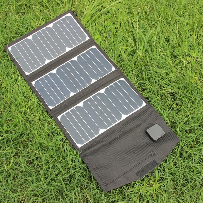 Cargador de Panel Solar BUHESHUI 27W para/iphone/teléfono móvil/Banco de energía 6W Cargador Solar al aire libre impermeable envío gratis