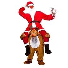 Traje de paseo en el hombro de mascota Piggy Back vestido de fiesta elegante traje de transporte (Lobo/gris)