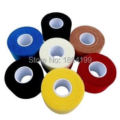 5 rollos/lote de cinta de flejado de 3,8 cm x 9,14 m, cinta de Protección deportiva rígida, cinta de protección de algodón de Color Leukotape, cinta de fijación de equipo de protección de Australia