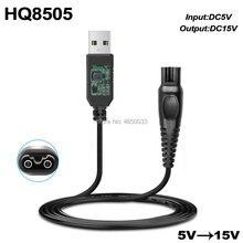 15V 5.4W DC Chargeur Adaptateur secteur pour PHILIPS Norelco HQ8 HQ8505 HQ8500 HQ6070 HQ6073 HQ6076 HQ8885 HQ8445 HQ8893 PT860 AT890